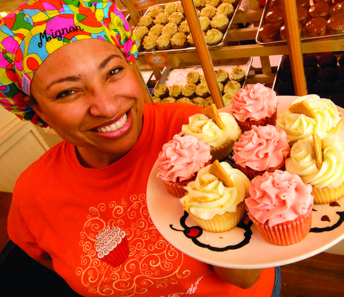 the cupcake collection, black entrepreneur, black owned business, black owned bakery, bakery in Nashville, black female entrepreneur